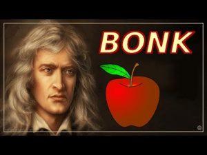 newtons apple