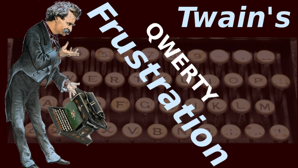 mark twains typewriter