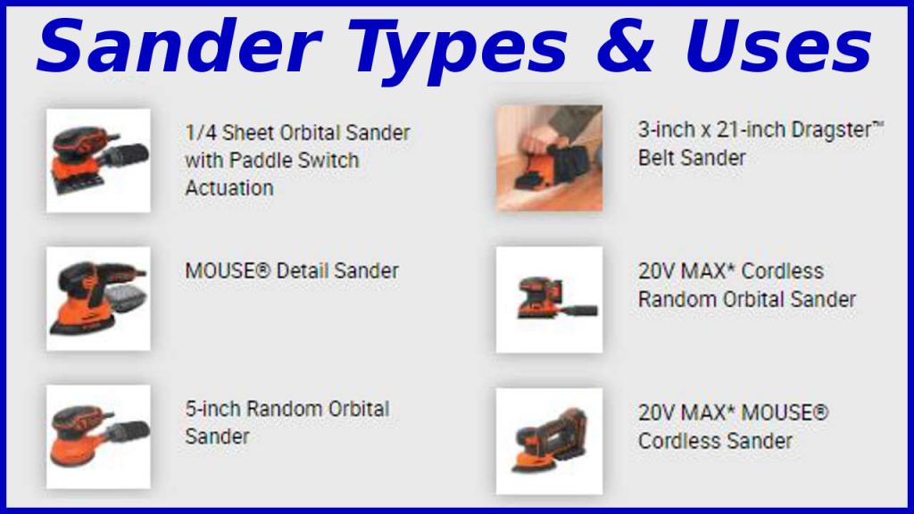 Types of Sanders
