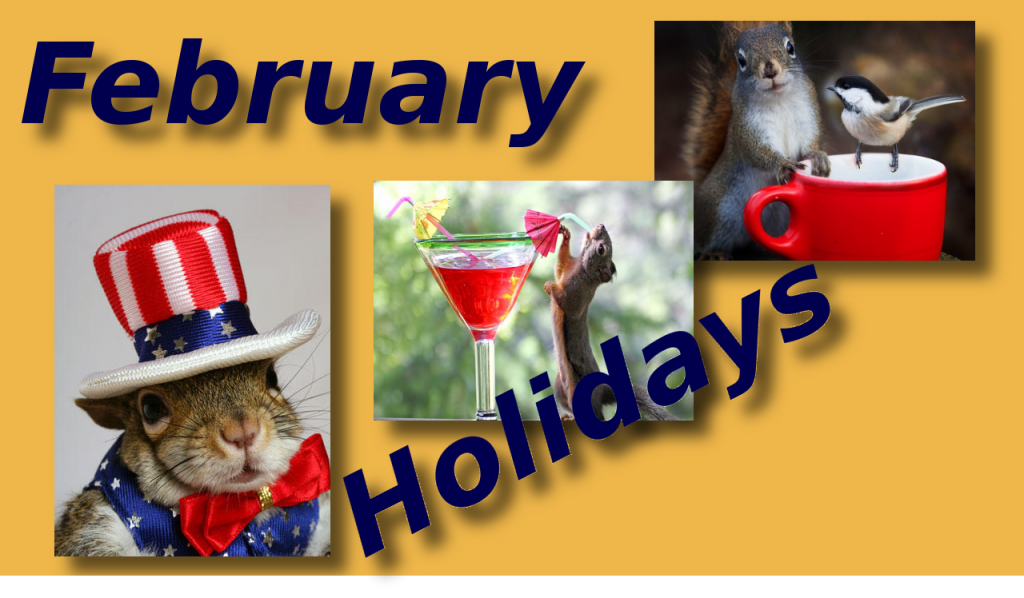 Holidays in February 2020