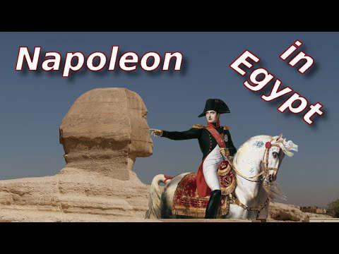 napoleon and sphinx of egypt