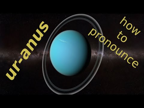 how to pronounce Uranus